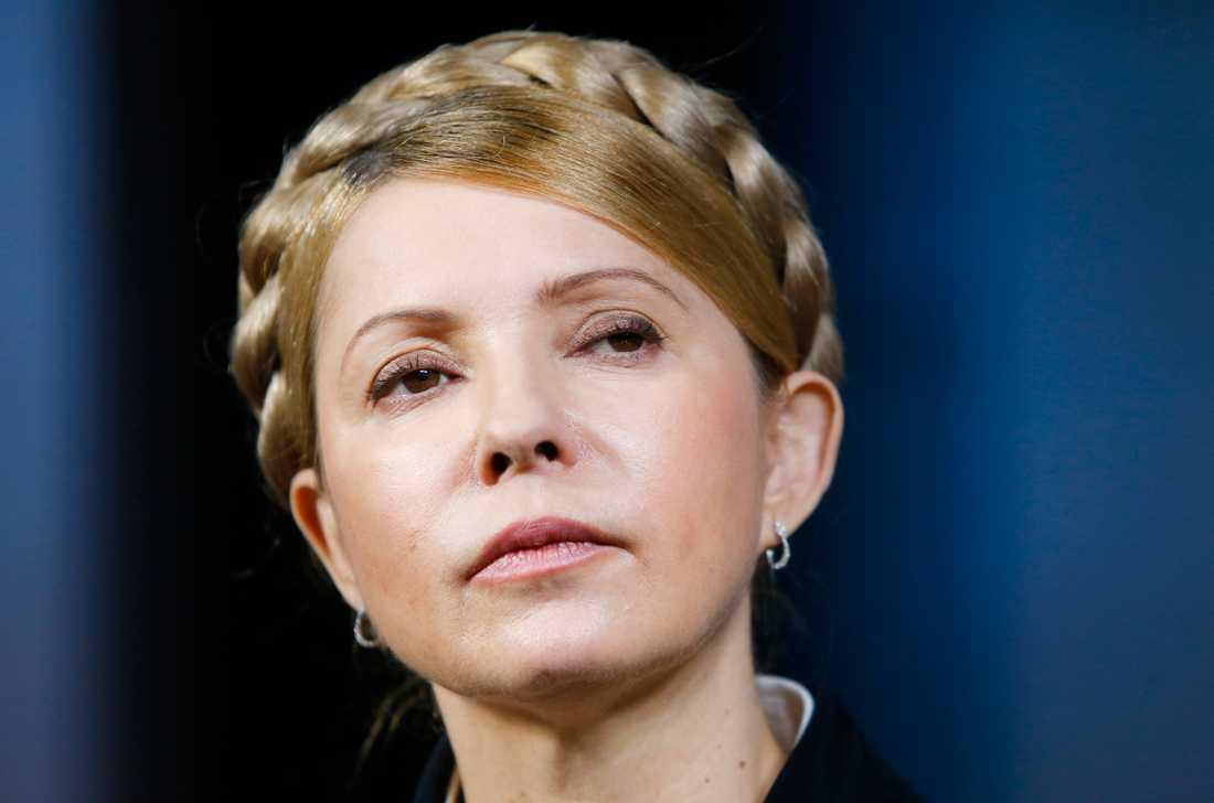 Julia Tymosjenko finns på listan över ukrainska medborgare som får tillgångar frysta av Ryssland. Arkivbild.