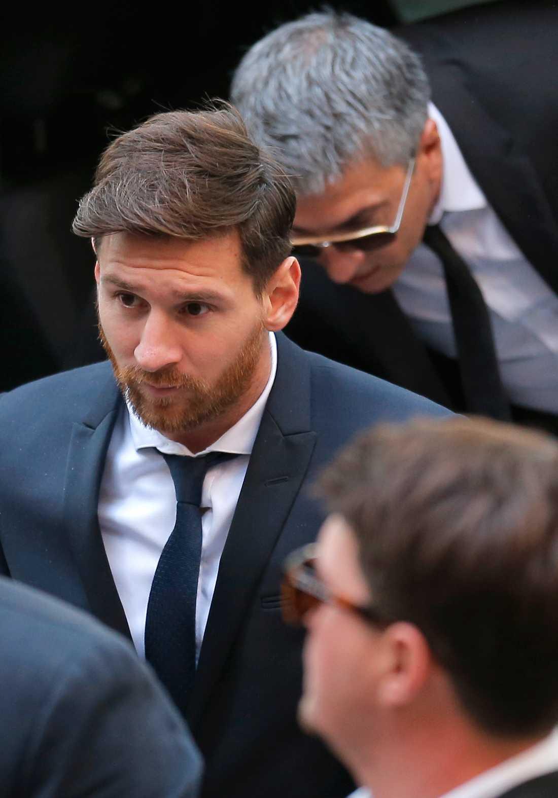 Messi under rättegången