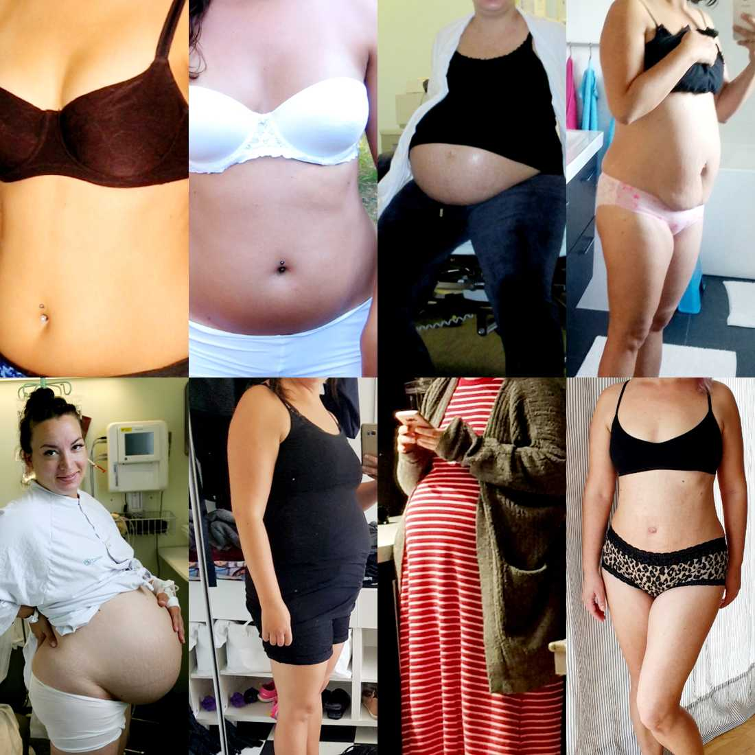 Mammor uppmanas lägga upp bilder på sina magar.