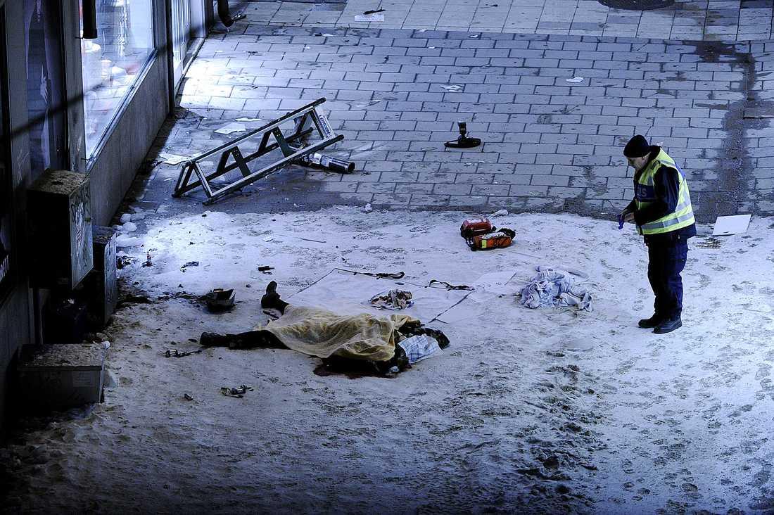 Bombattacken kunde ha fått katastrofala följder, men som genom ett under dog ingen annan än Taimour Abdulwahab själv.