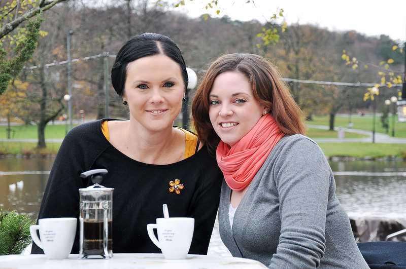 I höstas bjöd Kristin in Verena och hennes pojkvän till Sverige och snart ska de träffas igen - på Verenas bröllop.