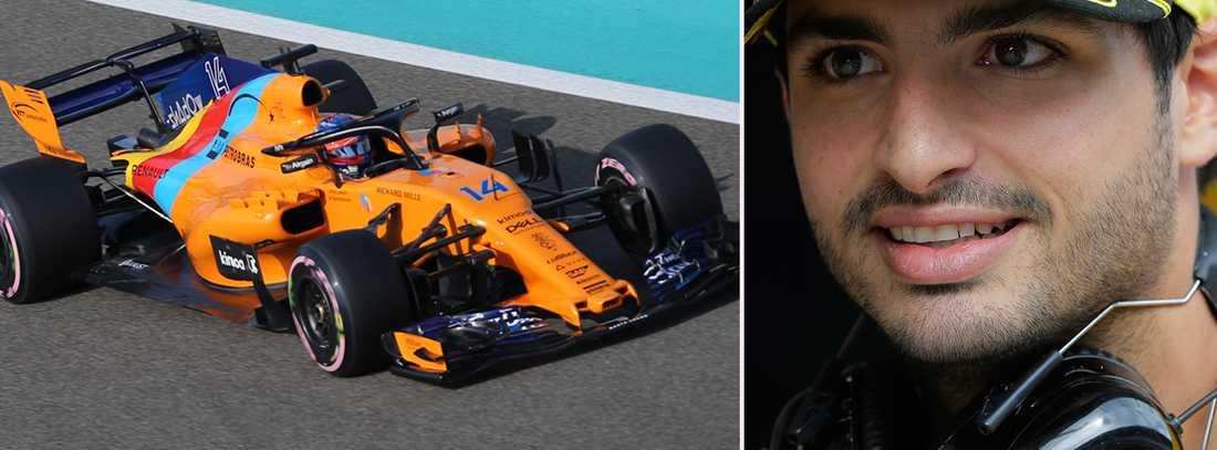 Sainz blir en del av McLaren