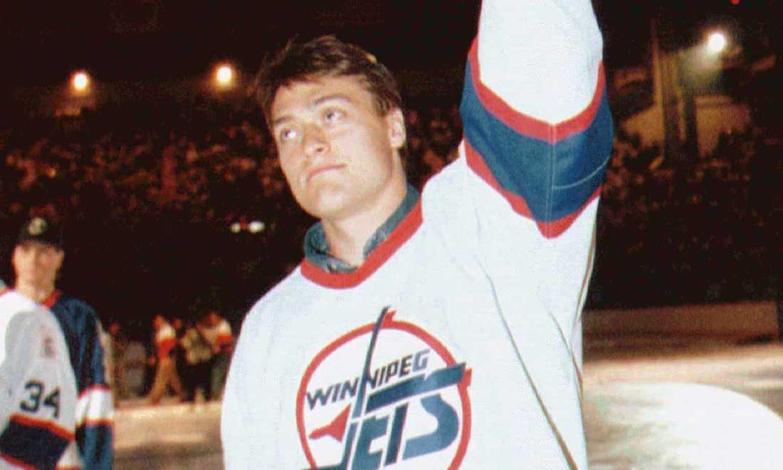 Teemu Selännes första NHL-klubb var Winnipeg Jets (1992-96).