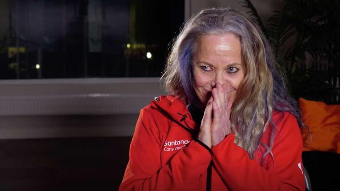 "Susanne Nordqvist i tv-programmet ""Min klassiker""."