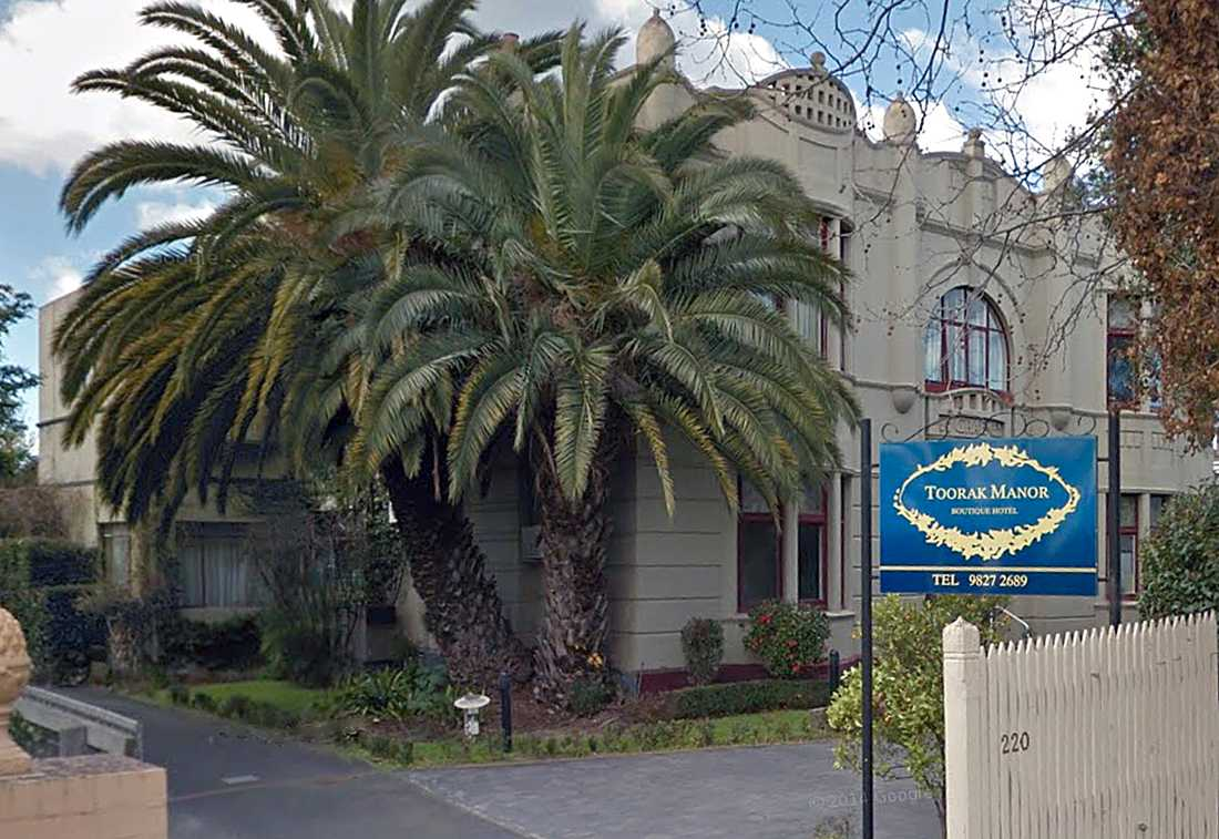 Toorak Manor, Melbourne.
