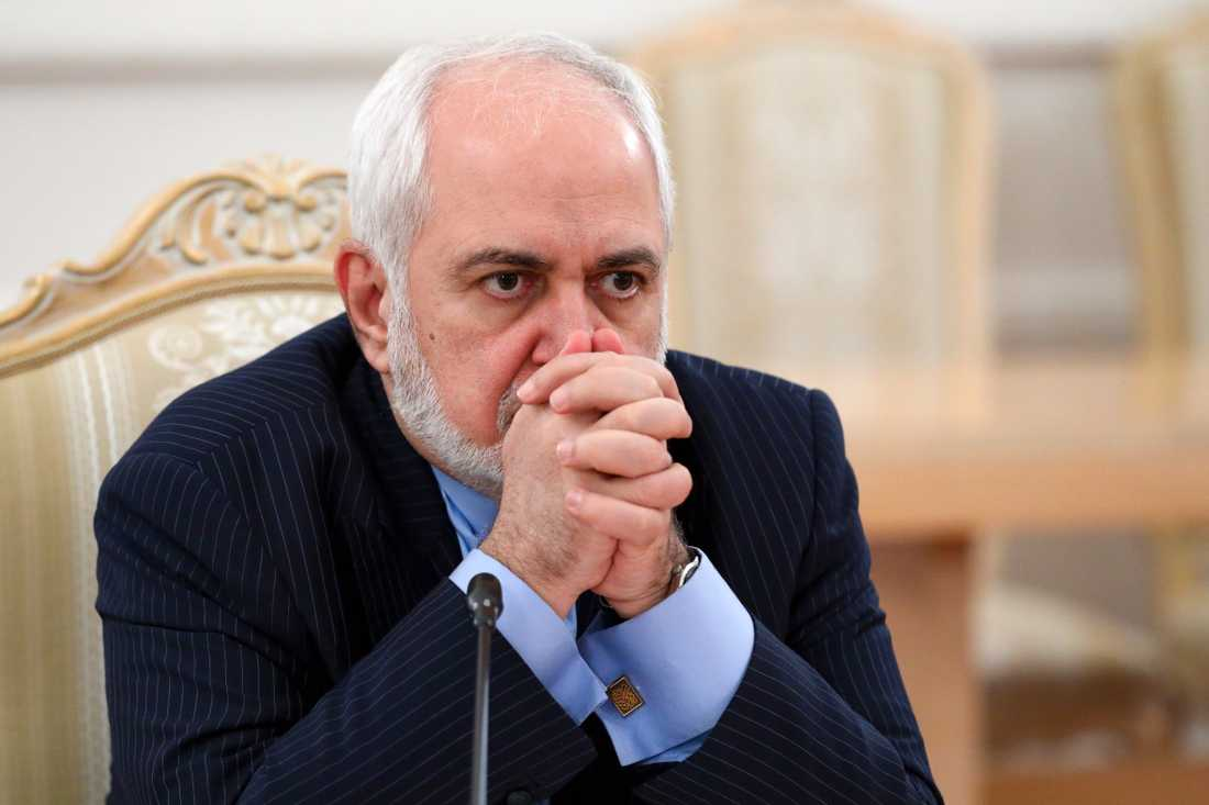 Irans utrikesminister Javad Zarif i Moskva förra veckan.