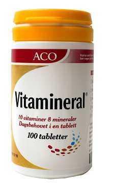 aco vitamineral kvinna