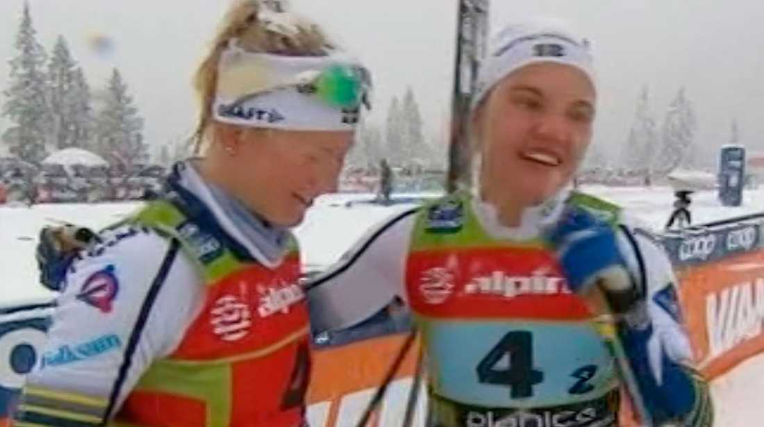 Maja Dahlqvist och Linn Svahn