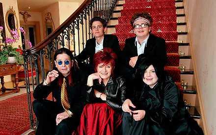 "Frontfiguren Ozzy Osbourne fick en ny karriär som dokusåpakaraktär i ""The Osbournes"". Foto: MTV"