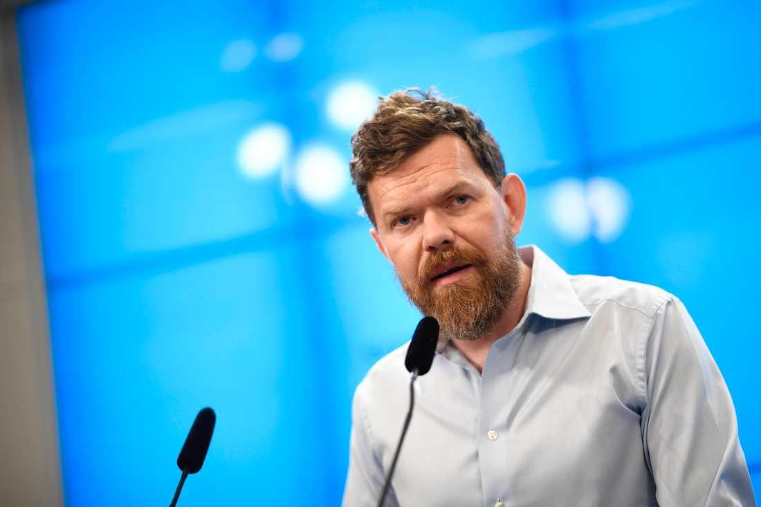 Vänsterpartiets partisekreterare Aron Etzler.