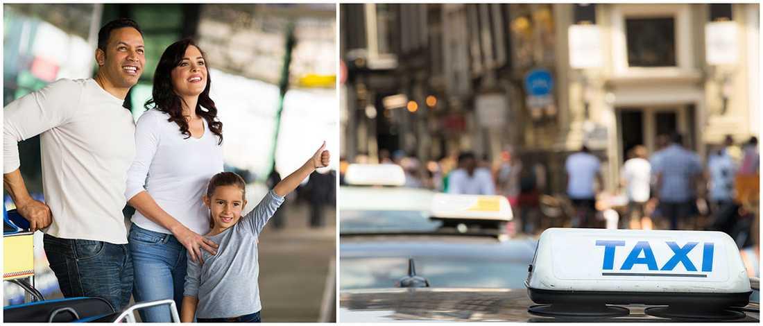 Det är dyrt att ta taxi i Schweiz. Billigast är det i Egypten.