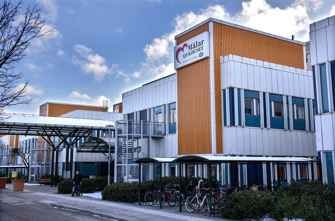 Mälarsjukhuset i Eskilstuna.