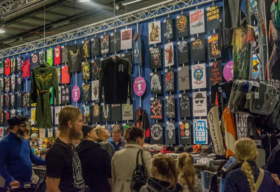 80-talet utställare och butiker