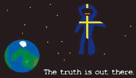 RYMDEN VÄNTAR När den förste mannen kom till månen drömde människor om alla möjligheter det skulle innebära. Men inte mycket hände. Det är dags att demokratisera rymden. TECKNING: Elias, 10 år