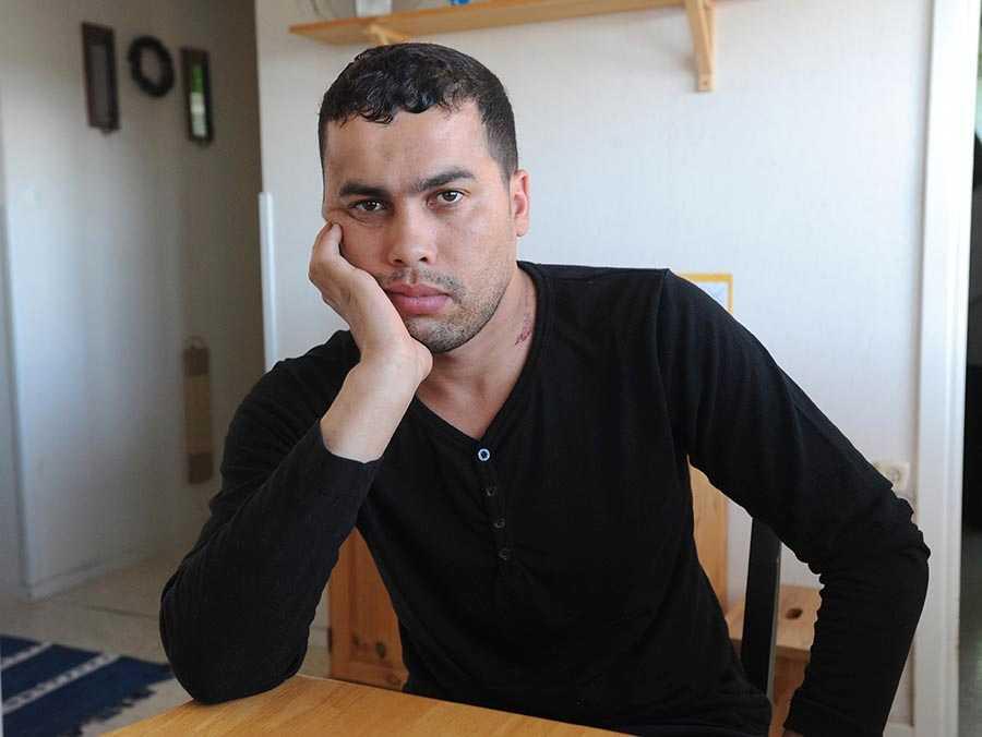 Ghaouti Berrouane, 28, körde bilen som krockade med Caroline på E4 i Gävle i söndags. Nu berättar han sin syn på olyckan.