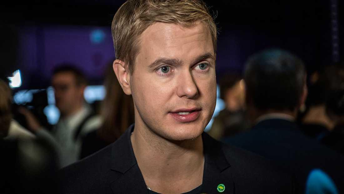 MP:s språkrör Gustav Fridolin.