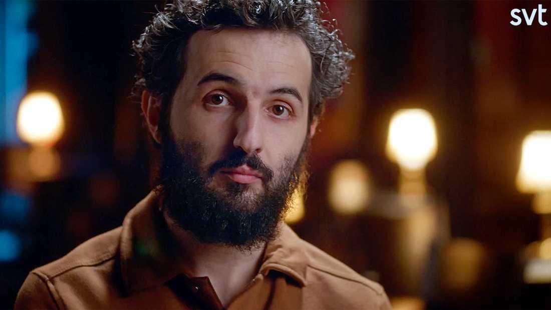 "Soran Ismail i SVT-dokumentären ""Persona non grata – Soran Ismail""."