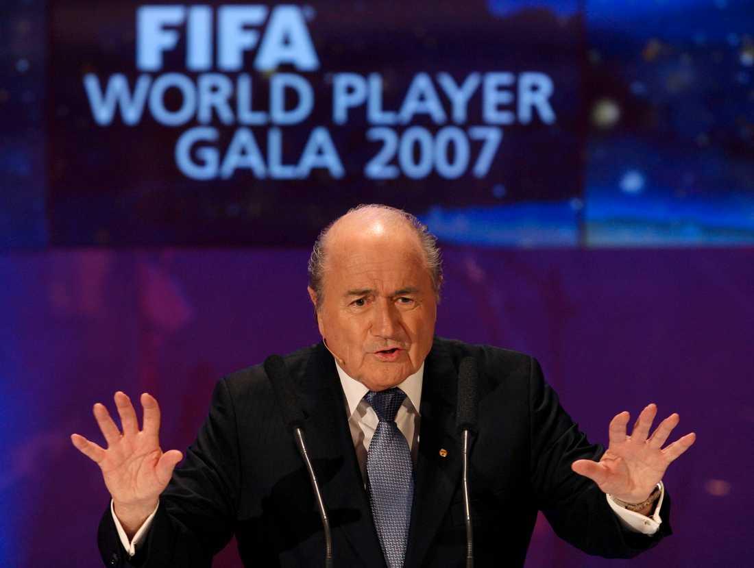 Sepp Blatter har ännu en gång stått för ett kontroversiellt uttalande.