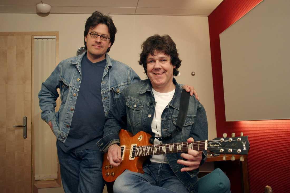 """""""BESATT"""" Jörgen Holmstedt har gjort en dokumentär om Thin Lizzy. """"Han var besatt av sin gitarr"""", säger han om Moore."""