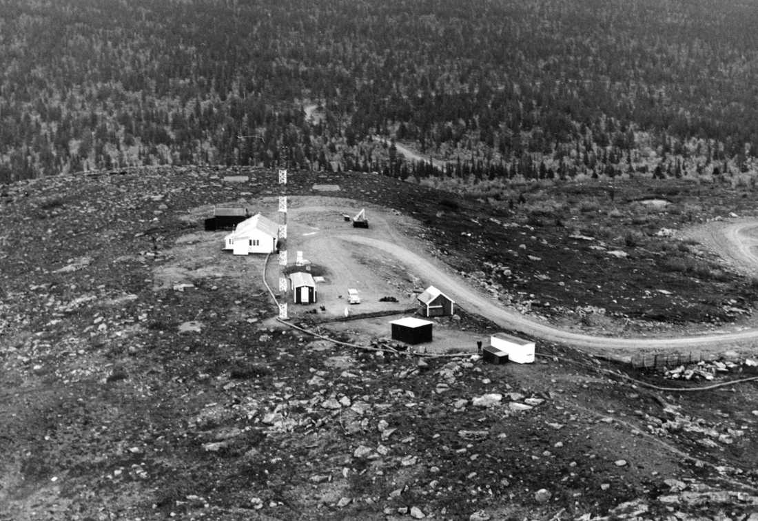 Robotförsöksplats Norrland år 1965. Numera finns Vidselbasen här.