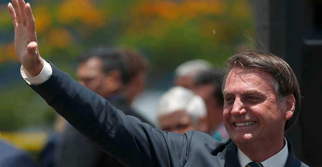 Jair Bolsanaro, president i Brasilien.