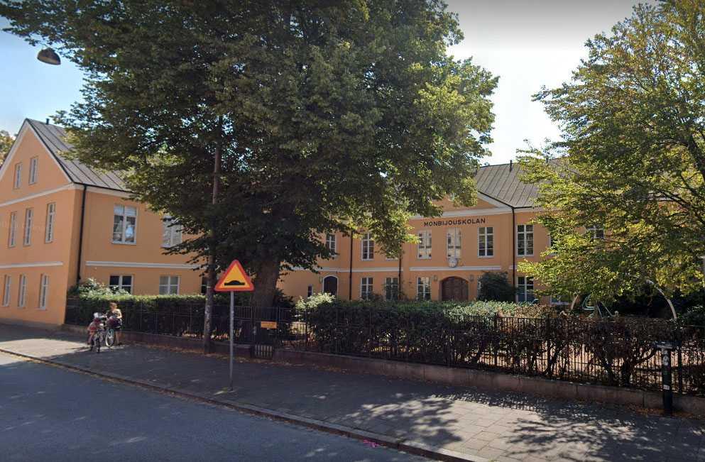 Monbijouskolan i Malmö.