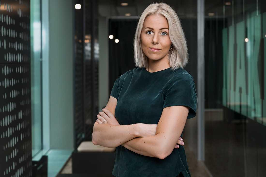 Louise Ekman, pressansvarig på Tele2