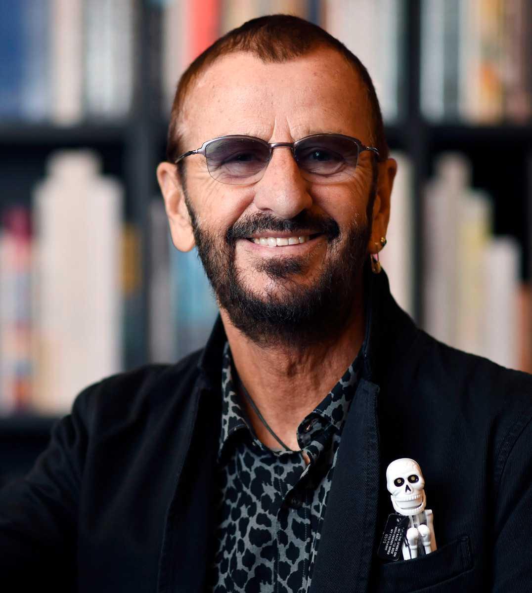 Ringo Starr fyller 80 år i dag.