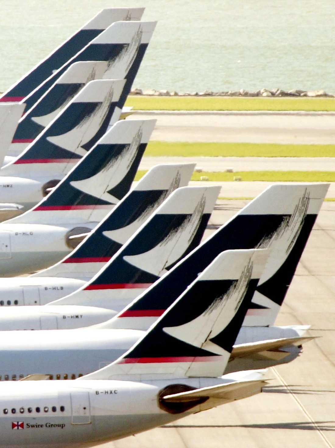 Flygplan tillhörande Cathay Pacific