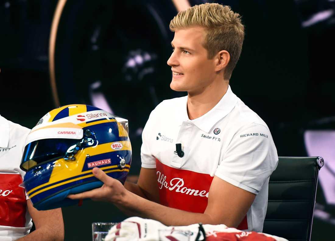 """Det går knackigt för Marcus Ericsson i F1. Men svensken har inga tankar på att ge upp. """"Målet är att få stanna i F1 även nästa år"""", säger han."""