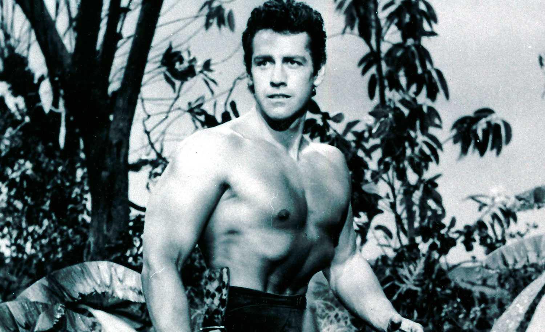 Gordon Scott som Tarzan 1958.
