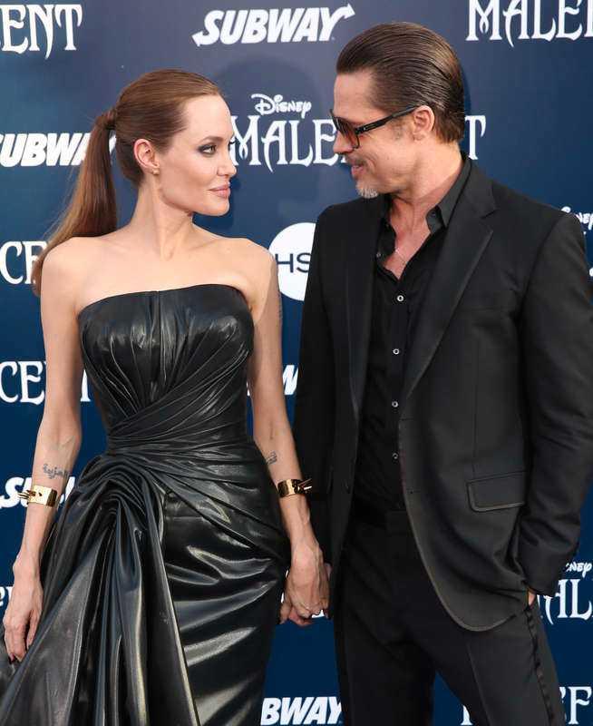 Brad Pitt och Angelina Jolie – också kända under namnet Brangelina.