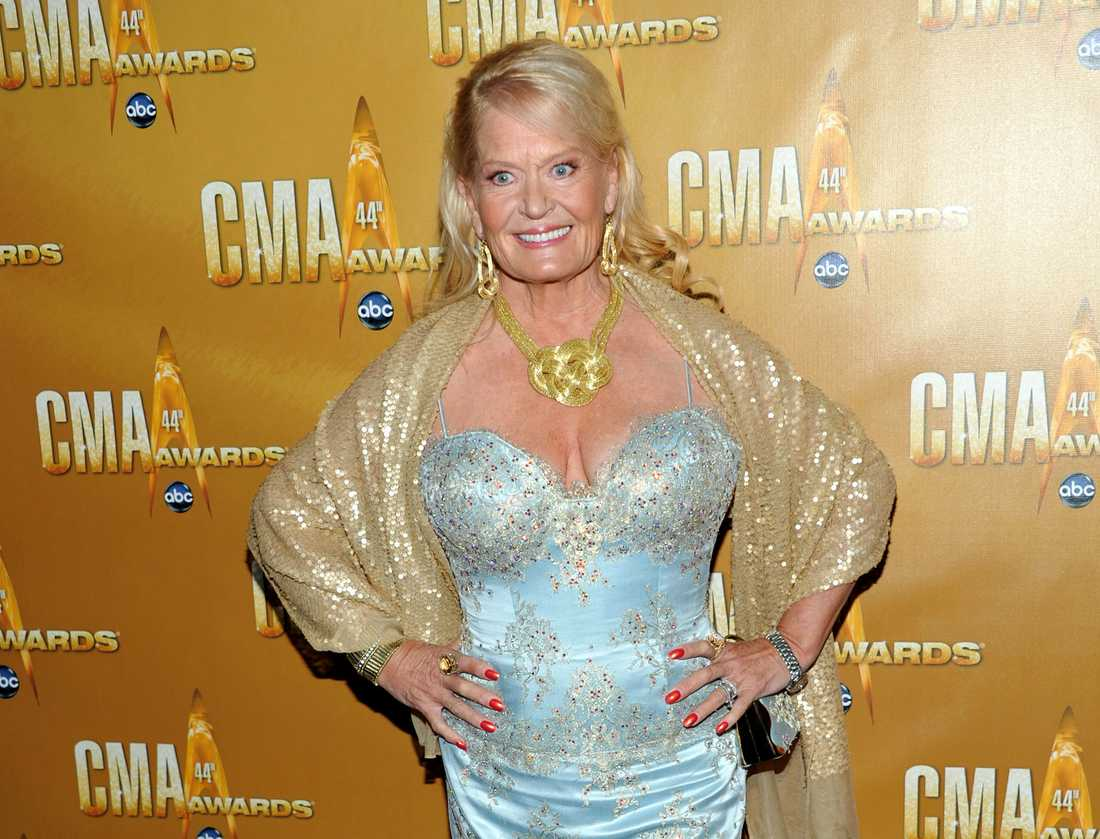 Lynn Anderson på Country music awards-galan 2010.
