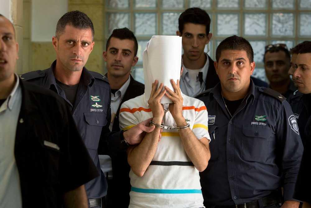 Tre personer åtalas för mordet på den palestinske pojken. I förhör ska de ha sagt att dådet var en hämnd för morden på de israeliska tonåringarna.