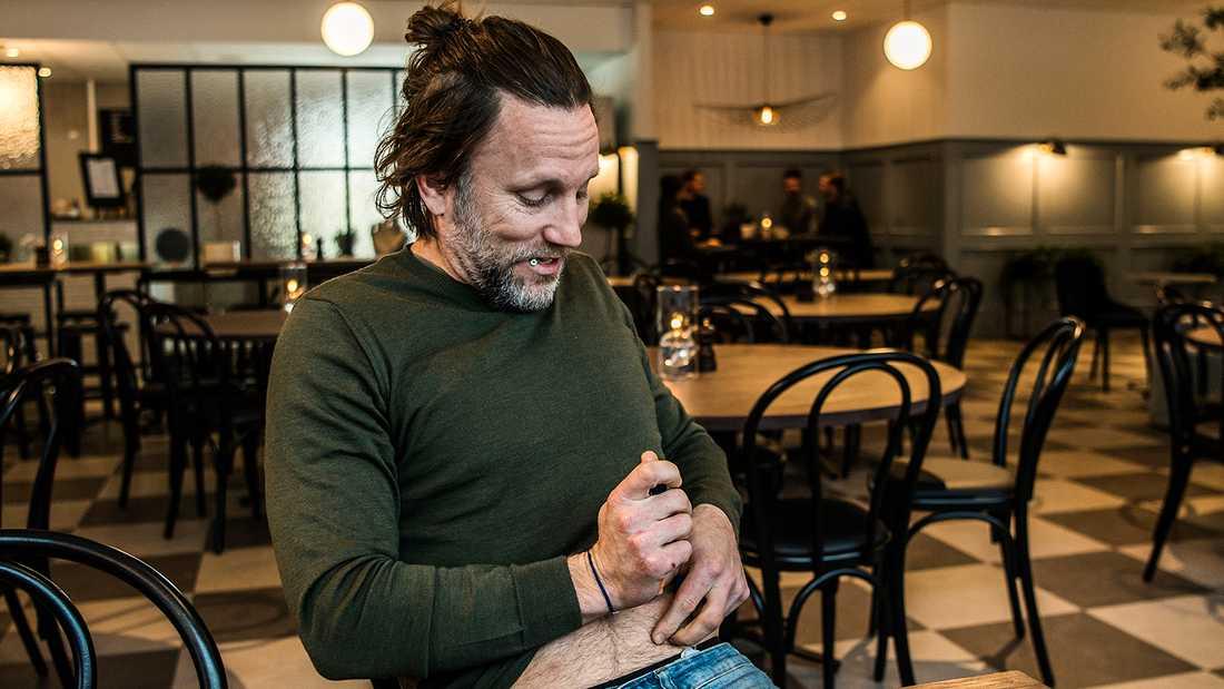 Peter Jihde lever med diabetes typ 1.