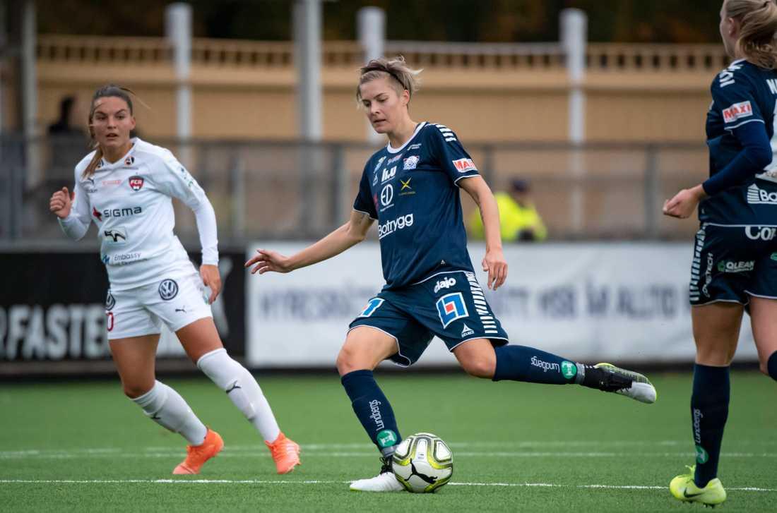 Linköping får klara sig utan Lina Hurtig i premiären mot Växjö. Arkivbild.