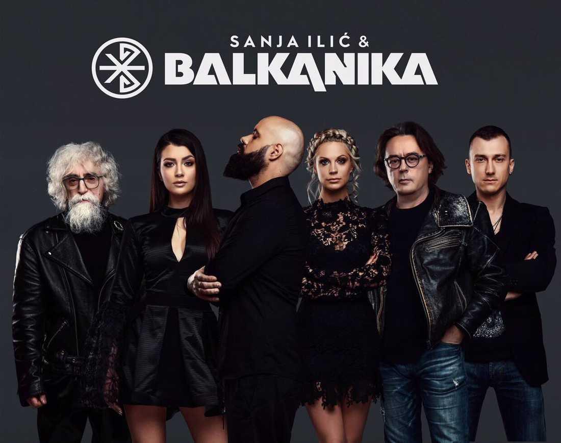 Sanja Ilić & Balkanika, Serbien.