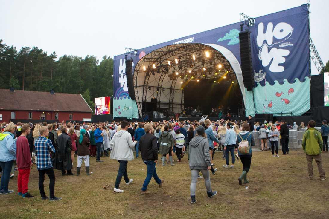 Hovefestivalen i Norge.