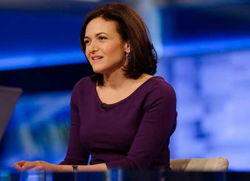 Sheryl Sandberg, Facebooks chef.