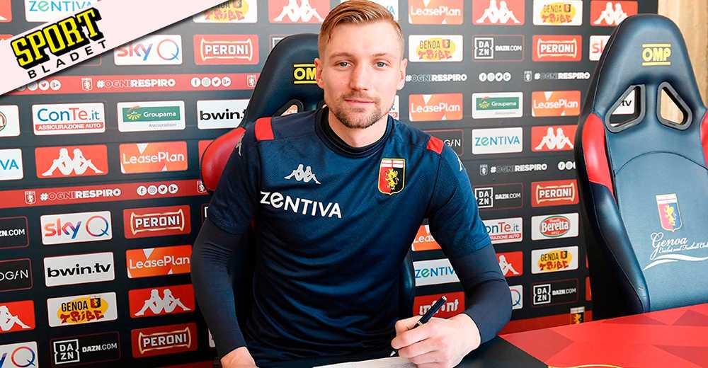 Officiellt: Sebastian Eriksson klar för Genoa