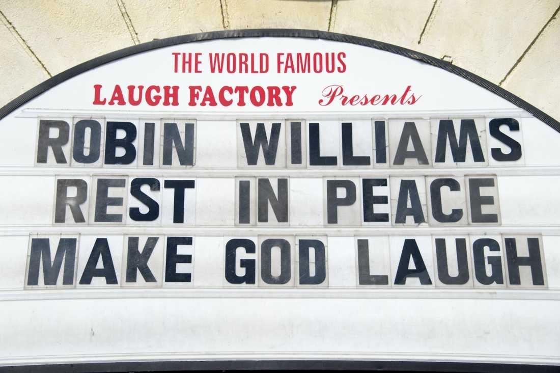 Stand up-världens hyllningar Robin Williams hyllas på flera stand up-klubbar