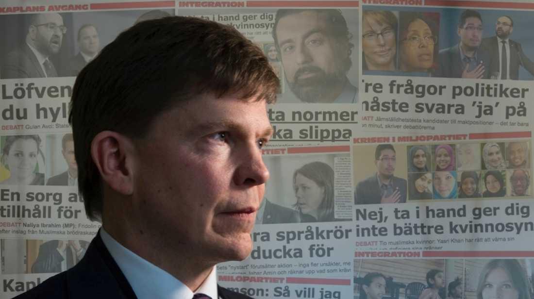 Krisen i Miljöpartiet är ett tecken på ett bredare samhällsproblem. Det är dags att vi i Sverige nu tar klar ställning mellan rätt och fel. Vi måste våga prata om svenska normer, skriver Andreas Norlén, ordförande (M) i riksdagens konstitutionsutskott.