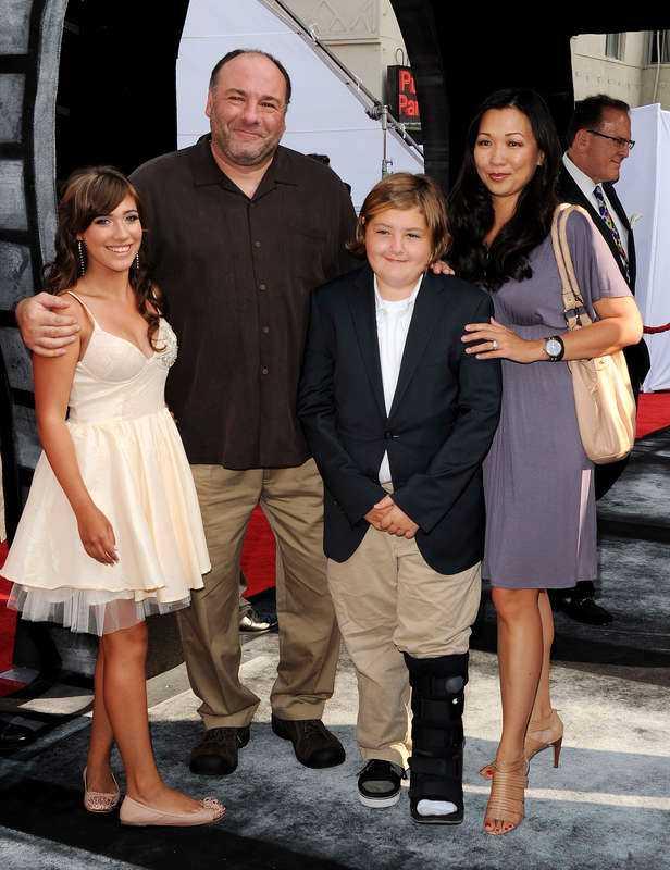 Skådespelaren var gift med Deborah Lin och paret hade en liten dotter tillsammans, Liliana. Sedan tidigare hade Gandolfini även sonen Michael.