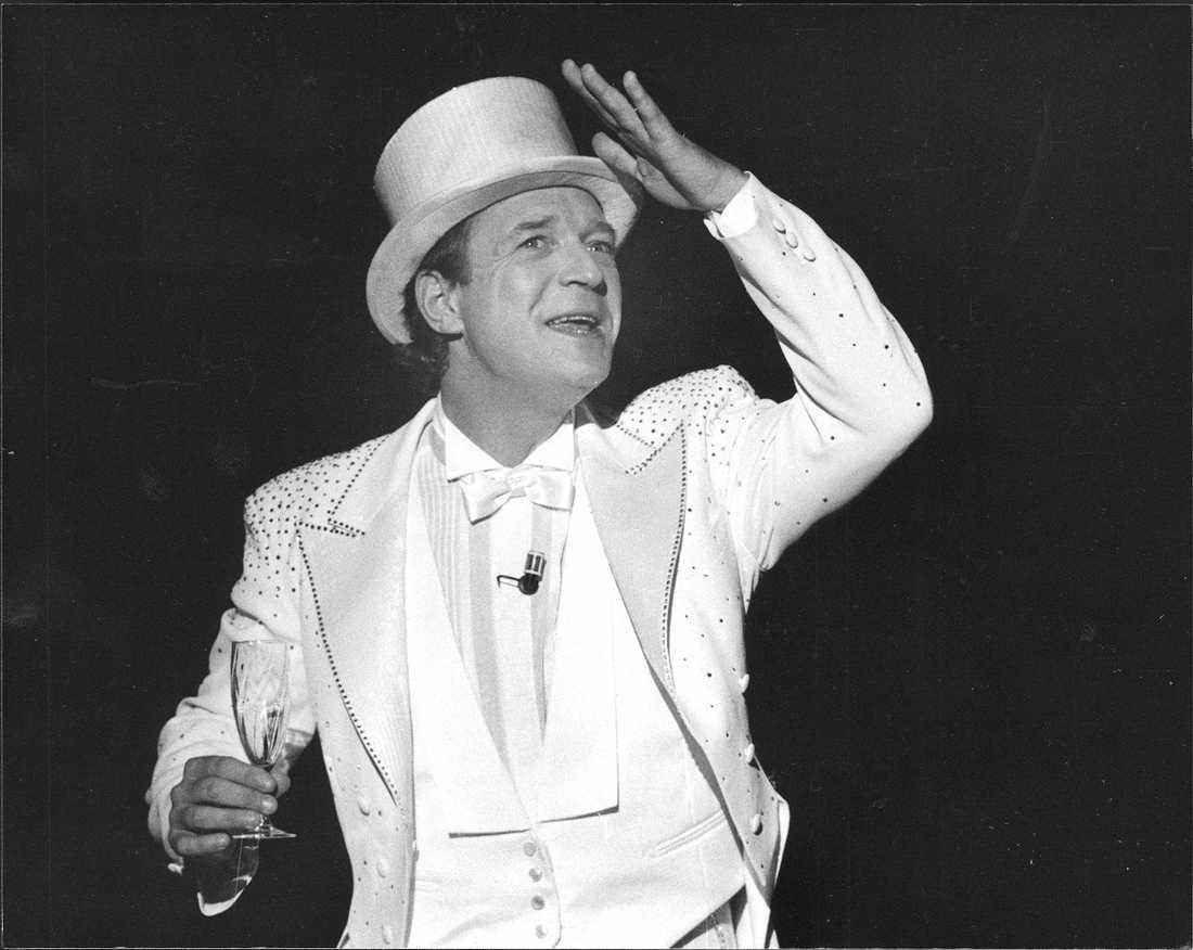 """""""Skål!"""", musikal på Maximteatern med Brasse Brännström 1986."""