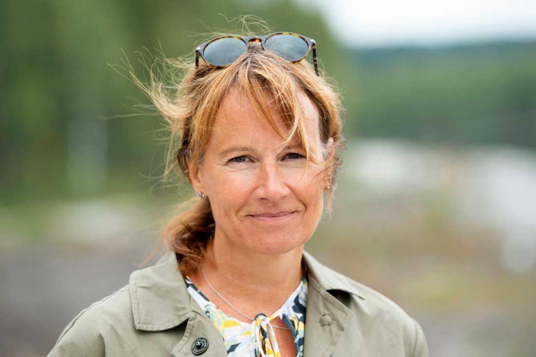 """Ett av målen som kommunen satte upp med """"Skellefteå 2030"""" är att det ska finnas 80000 invånare i staden 2030. """"Men som det ser ut nu kanske vi behöver sätta ett nytt mål"""", säger kommundirektören Kristina Sundin Jonsson."""
