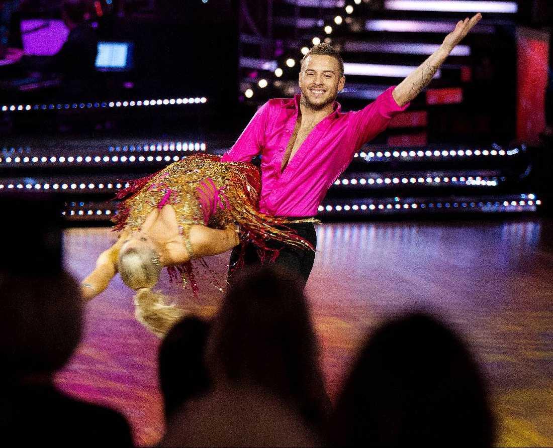 ÄGER DANSGOLVET Anton Hysén har både dansat in i svenska folkets och Tobias Karlssons hjärtan.