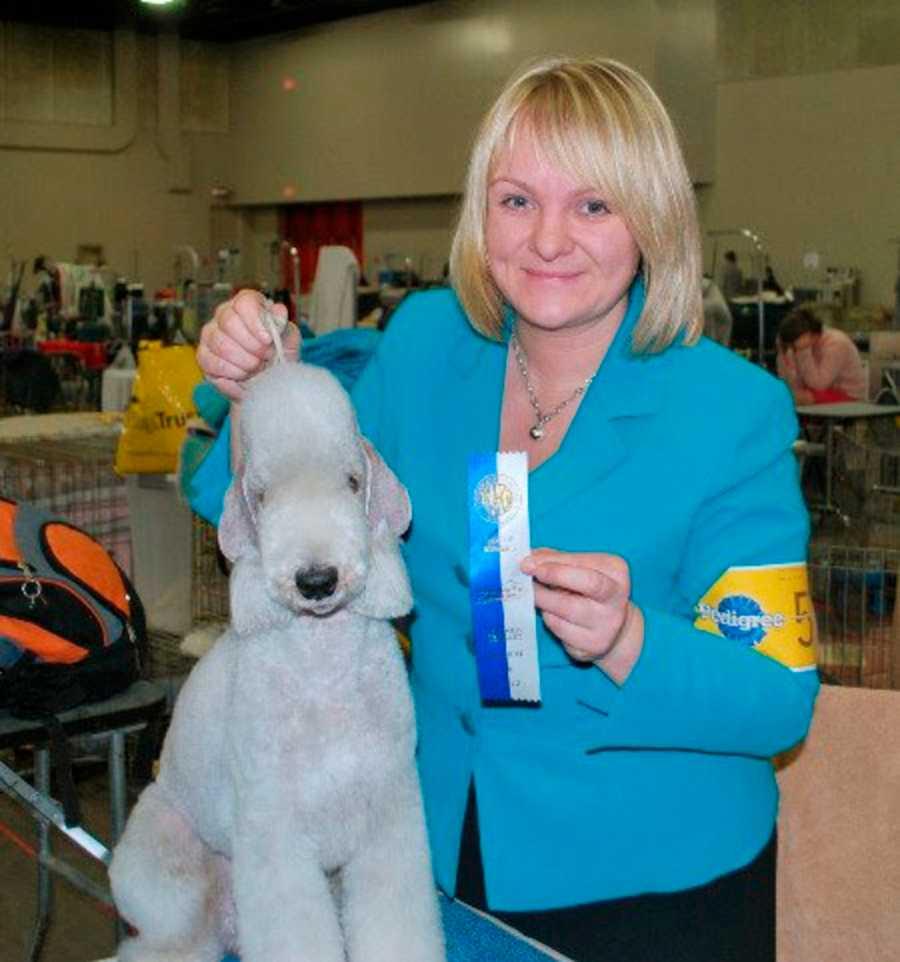 Cancersjuka Malin, 42, åkte till Italien för att gå på en hundutställning. Hon dog i Milano.