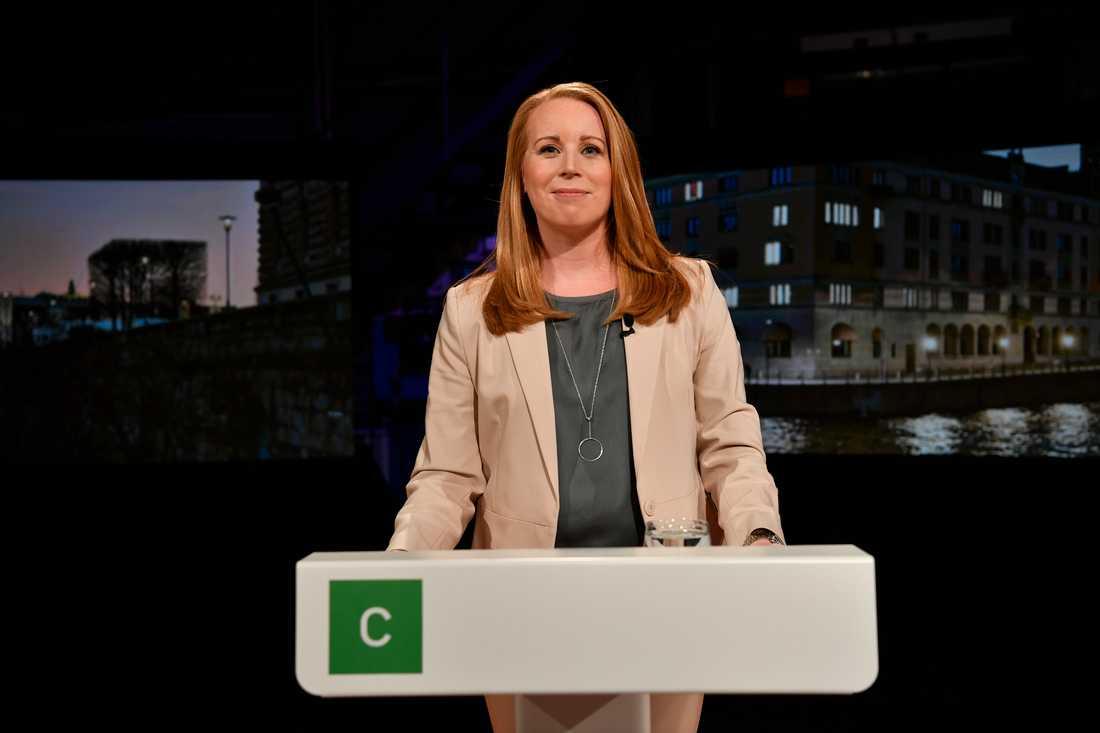 Centerpartiet har beslutat att i stora delar ställa sig bakom regeringens proposition om en ny migrationslagstiftning, meddelar partiledaren Annie Lööf. Arkivbild.