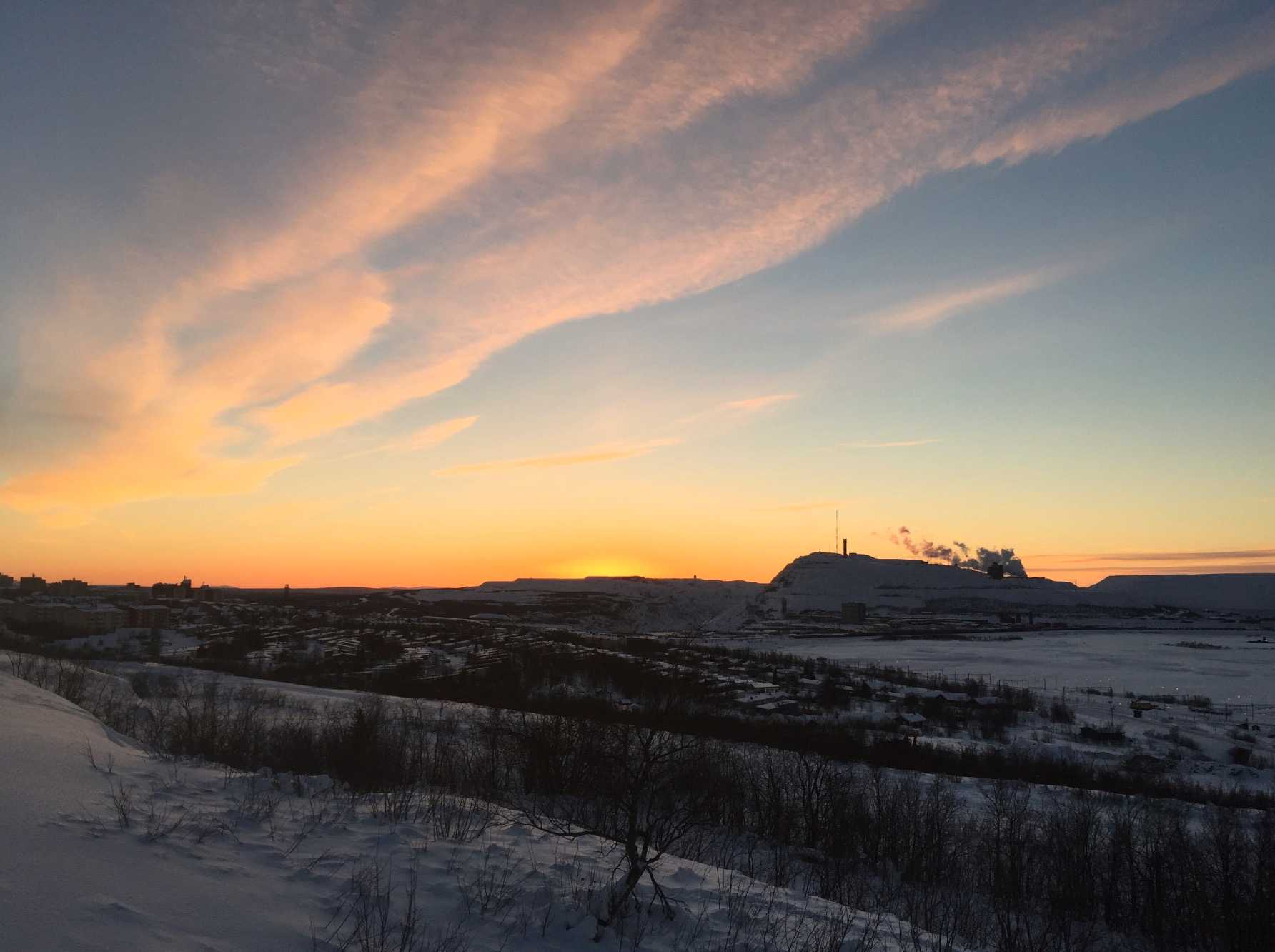 Här går solen ned –för sista gången i år.