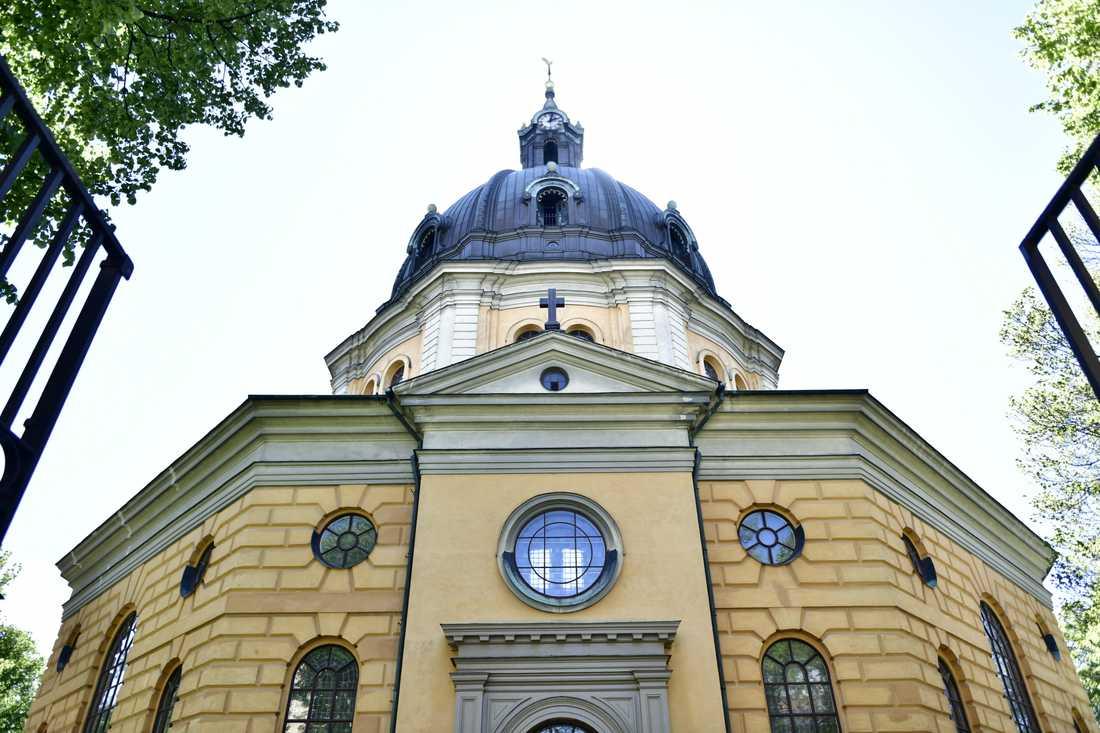 Bibi Andersson begravdes i Hedvig Eleonora kyrka i Stockholm på fredagen